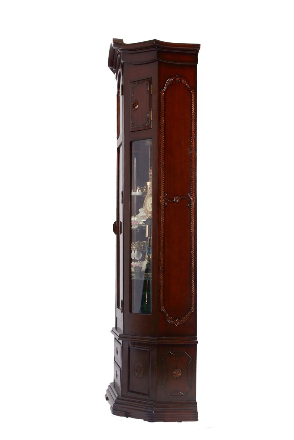 원목 장식장시계